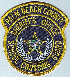 Sheriff: FL. Palm Beach Co. Sheriffs Office-School Crossing Guard