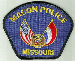 Macon Police Patch (MO)