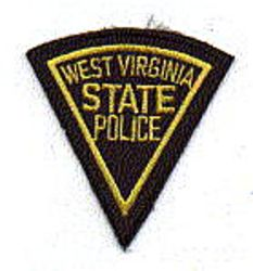 State: WV. State Police Patch (cap size)