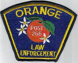 Orange Law Enforcement Post 266 Patch (CA)