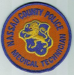 Nassau Co. Police Medical Technician Patch (NY)