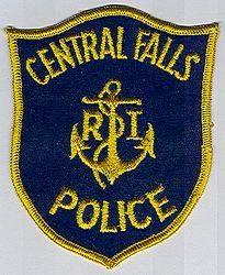 Central Falls Police Patch (RI)