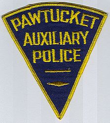 Pawtucket Aux. Police Patch (RI)