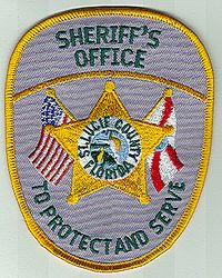 Sheriff: FL, St. Lucie Co. Sheriffs Office Patch (flags)