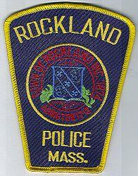 Rockland Police Patch (MA)