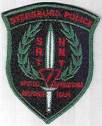 Dyersburg Special Operations Response Team Police Patch (TN)