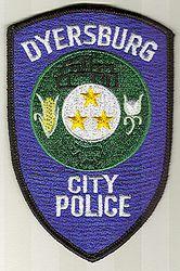 Dyersburg City Police Patch (TN)
