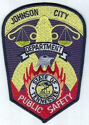 Johnson City-Dept. of Public Safety Patch (TN)