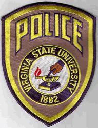 School: VA, Virginia State University Police Patch