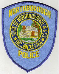 Northborough Police Patch (MA)