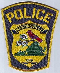 Martinsville Police Patch (VA)
