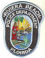 Riviera Beach Police Patch (FL)