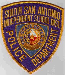 School: TX. South San Antonio Indep. School Dist. Police Patch
