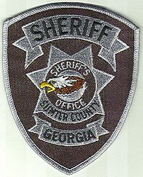 Sheriff: GA, Sumter Co. Sheriff Patch