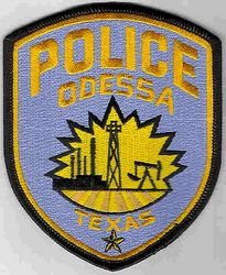 Odessa Police Patch (TX)