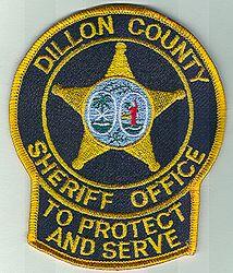 Sheriff: SC. Dillon Co. Sheriff Office Patch