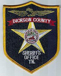 Sheriff: TN. Dickson Co. Sheriffs Office Patch