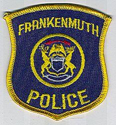 Frankenmuth Police Patch (cap size) (MI)