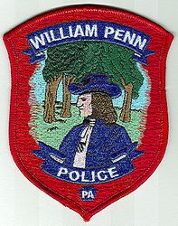 William Penn Police Patch (PA)