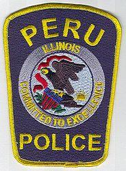 Peru Police Patch (yellow edge) (IL)
