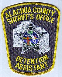 Sheriff: FL, Alachua Co. Sheriffs Office Detention Asst. Patch