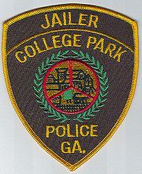 College Park Jailer Police Patch (GA)