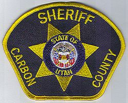 Sheriff: UT. Carbon Co. Sheriff Patch