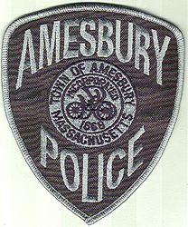 Amesbury SWAT Police Patch (MA)