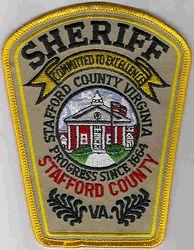 Sheriff: VA. Stafford Co. Sheriff Patch