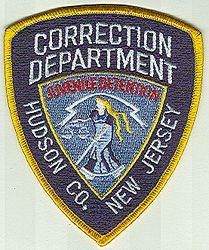 Hudson Co. Correction Dept. Juvenile Detention Patch (NJ)