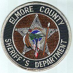 Sheriff: AL, Elmore Co. Sheriffs Dept. Patch (brown/black)