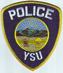 School: OH, Youngstown State Univ. Police Patch