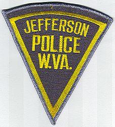 Jefferson Police Patch (WV)