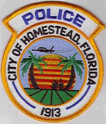 Homestead 1913 Police Patch (FL)