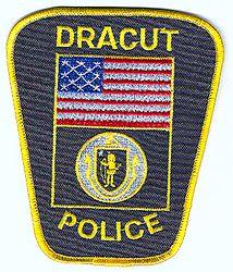 Dracut Police Patch (flag)(MA)