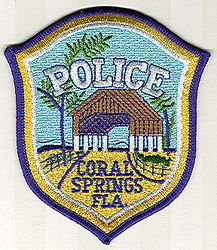 Coral Springs Police Patch (FL)
