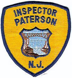 Paterson Inspector Patch (NJ)