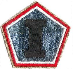 1st ARMY GROUP PATCH (WWII)