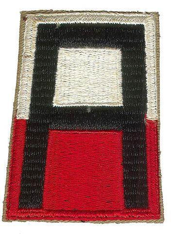 1st ARMY PATCH POST WW II