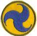 GHQ ARMY AIR FORCE FELT (REPRO)