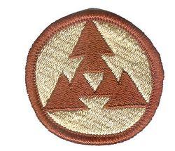 3rd LOGISTICAL COMMAND, DESERT
