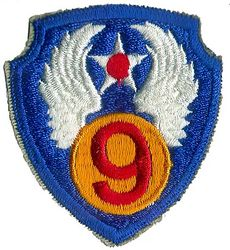 9th AIR FORCE (REPRO)