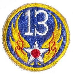 13th AIR FORCE (REPRO)