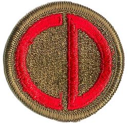 85th INFANTRY DIVISION (OLD)