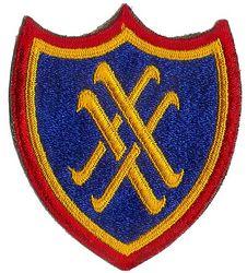 XX CORPS (ORIGINAL)