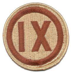 IX CORPS (DESERT)