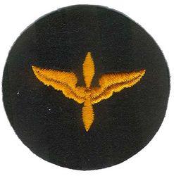 AIR FORCE CADET, BLACK FELT (ORIGINAL)