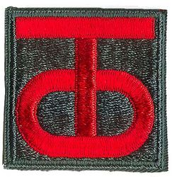 90th INFANTRY DIVISION, 1950S