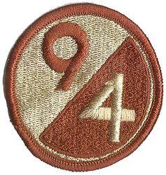 94th INFANTRY DIVISION, DESERT