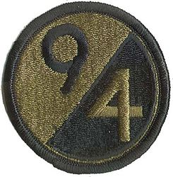 94th INFANTRY DIVISION, SUBDUED